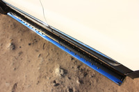 Пороги труба с проступью Ford Explorer 2012 (d120*60)