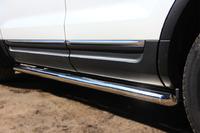 Пороги труба Ford Explorer 2012 (d63)