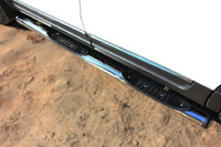 Пороги труба с накладками Ford Explorer 2012 (d76) #2