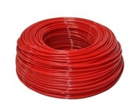 Шланг силиконовый красный 6*10мм (бухта 10м)