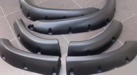 Фендера - расширители колесных арок Nissan Patrol Y61 (гладкие)