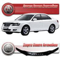 Дефлектор капота - мухобойка Hyundai Sonata NF 2009