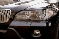 Накладки на фары (реснички) BMW X5 (E70) 2007-2010