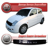 Дефлектор капота - мухобойка Toyota Will Vi 2000