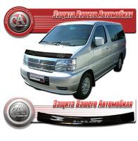 Дефлектор капота - мухобойка Nissan Elgrand 97-02