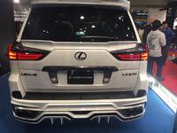 """Спойлер средний Double Eight """"Eight Star"""" на Lexus LX570/450 (под покраску)"""