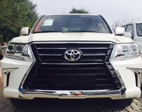 Обвес Toyota Land Cruiser 200 2016г (стиль Lexus LX570 2016)