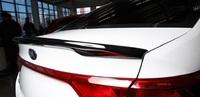 Накладка на крышку багажника - лип спойлер «GT-Line» KIA Rio Sedan IV (2017+)