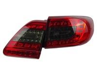 Стопы красно-дымчатые диодные Toyota Corolla E150 2010-2013