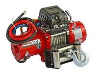 Лебёдка электрическая 12V Runva 9500lbs 4350 кг (короткий барабан)