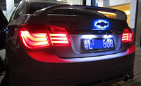 Стопы (фары) LED «BMW 7 Series Style» на Chevrolet Cruze