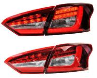 Стопы тюнинг диодные Ford Focus 3 2012-2015 (красные с белым)