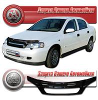 Дефлектор капота - мухобойка Opel Astra 98-04