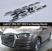 Пороги - подножки для Audi Q7 2016+