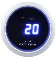 Датчик DEPO 52мм электронное табло (EGT) температура выхлопных газов