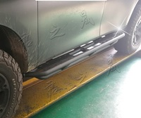 Подножки (пороги) усиленные металл Nissan Patrol Y62