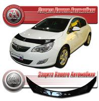 Дефлектор капота - мухобойка Opel Astra 2011