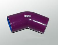 Патрубок силиконовый HKS 57-76мм 45 градусов