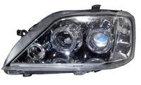 Фары (оптика) Renault Logan 2005-2010 линза (хром)