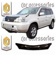 Дефлектор капота - мухобойка Nissan X-Trail T30 00-06