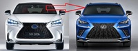 Рестайлинг обвес комплект Lexus NX 200/NX 200t/NX 300h 2014 в 2019