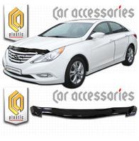 Дефлектор капота - мухобойка Hyundai Sonata 2011+