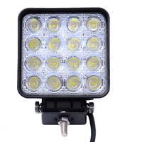 Светодиодная (LED) лампа 48w 16SMD квадратная