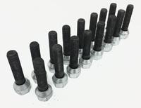 Шпильки колесные удлиненные 62 мм (16 штук)