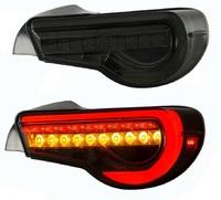 Задние светодиодные фонари стопы Toyota GT86 / Subaru BRZ (2012-2016) дымчатые