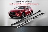 Пороги - подножки Lexus NX 2015+