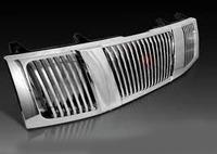 Решетка радиатора Nissan Frontier /Navara 2005+ хром