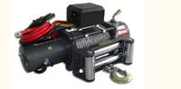 Лебёдка электрическая высокоскоростная 12V Runva 9500lbs (кевлар)