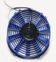"Вентилятор электрический 12"" синий"