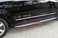 Хром накладки - молдинги на низ двери Nissan X-Trail T31