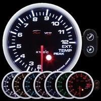 Датчик DEPO 52мм 7 цветов EGT (температура выхлопных газов)
