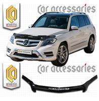 Дефлектор капота - мухобойка Mercedes-Benz GLK 2012