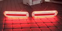 Катафоты фонари в бампер Toyota Land Cruiser 100
