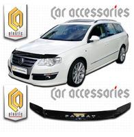 Дефлектор капота - мухобойка Volkswagen Passat универсал 05-10