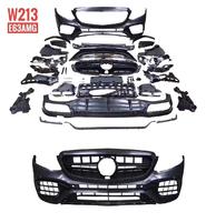 Рестайлинг обвес (комплект) для Mercedes W213 в E63 AMG