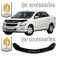 Дефлектор капота - мухобойка Chevrolet Cobalt 2013+