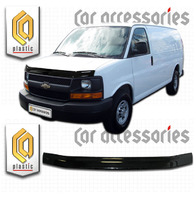 Дефлектор капота - мухобойка Chevrolet Express 2002+