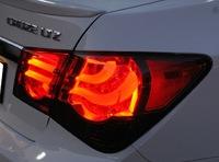 Стопы (фары) LED «BMW F Series Style» на Chevrolet Cruze (дымчатые+красные)