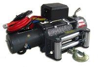 Лебёдка электрическая высокоскоростная 12V Runva 9500 lbs Black Edition