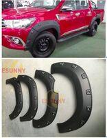 Фендера - расширители колесных арок Toyota Hilux Pick Up (REVO) 2015+ широкие GUN125L
