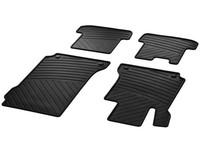 Резиновые коврики для Mercedes C204 A207 C207