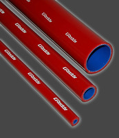 Шланг армированный красный Greddy 12мм 1м