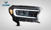 Фары тюнинг Ford Ranger 2015+ динамический повротник