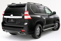 Задний бампер Elford Toyota Land Cruiser Prado 150