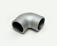 Отвод алюминиевый приварной 90гр 76мм