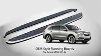 Пороги - подножки Acura MDX 2014+
